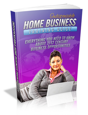 Product picture Indispensable Home Business Training Guide