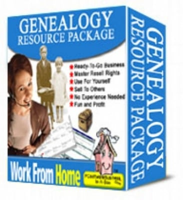Product picture Genealogy Resource Package