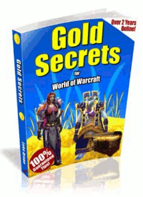 Product picture Gold Secrets of World Of WarCraft with Resell Rights