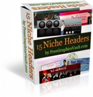 Product picture 15 Niche Headers Package