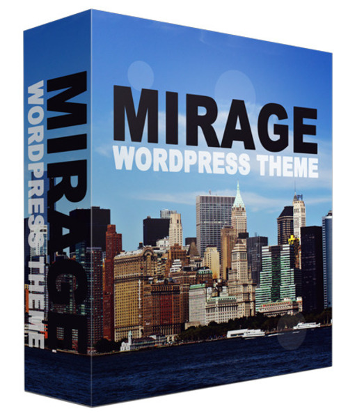 Product picture Mirage WordPress Theme