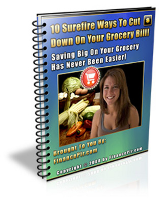 Product picture 10 Ways To Cut Grocery Bills